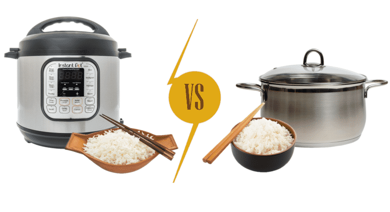 Pressure Cooked Rice vs Boiled Rice
