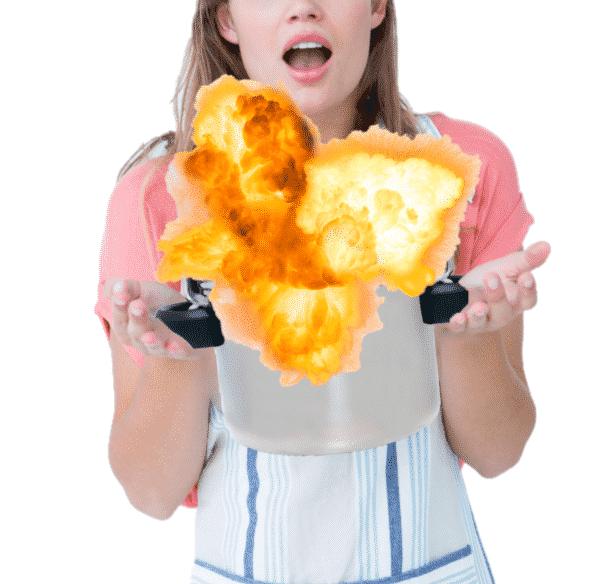 Pressure Cooker Explosion: Take Precautions!
