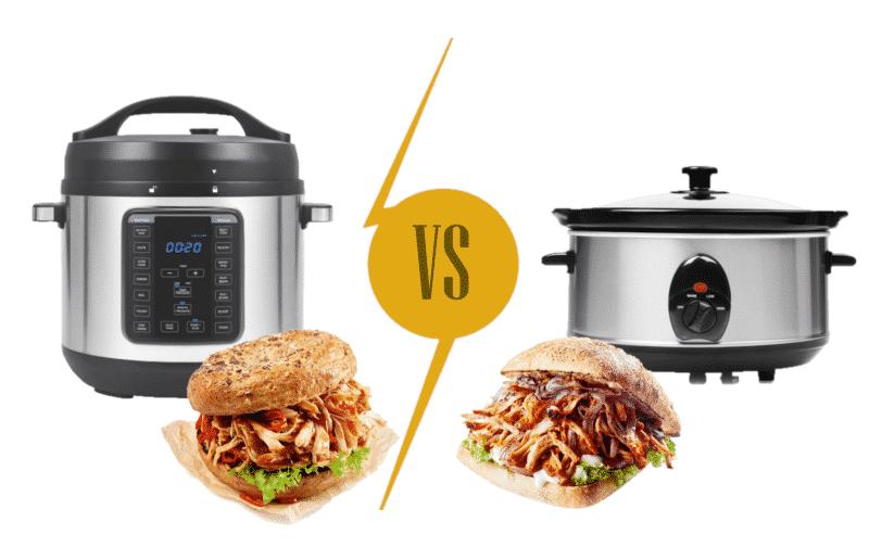 Pressure Cooker vs Slow Cooker Pulled Pork