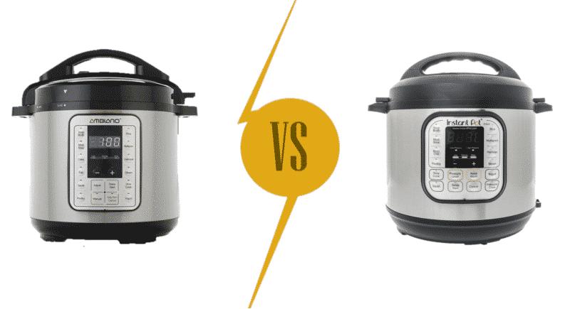 Ambiano Pressure Cooker vs Instant Pot