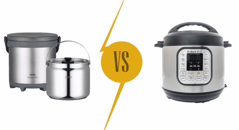 Thermal Pot vs Pressure Cooker Comparison