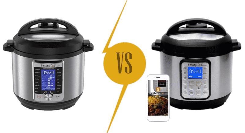 Instant Pot Ultra vs Smart Comparison