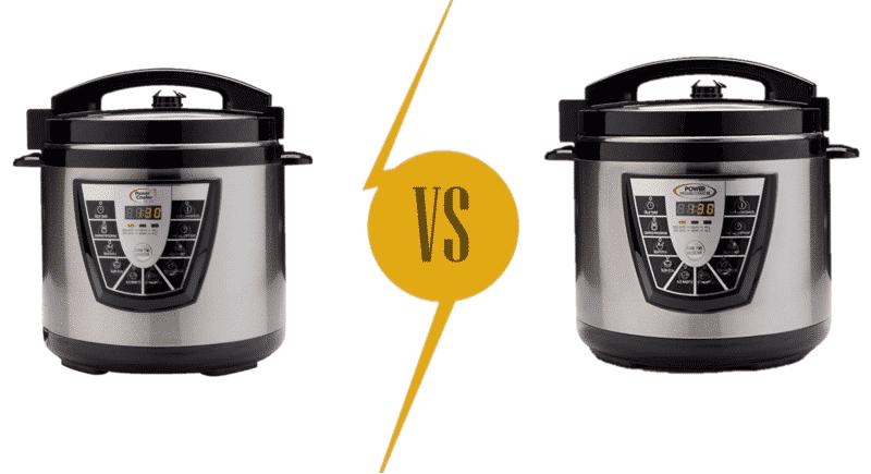 Power Cooker Plus vs Power Pressure Cooker XL