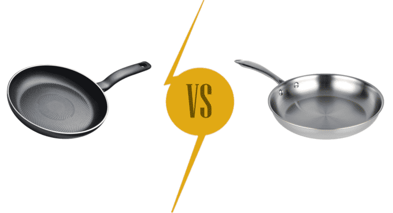 Teflon vs Stainless Steel In the Kitchen