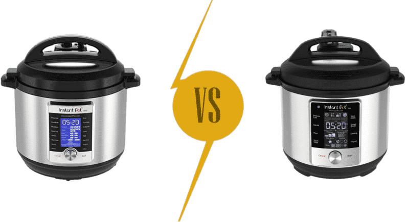 Instant Pot Ultra vs Max Pressure Cooker Comparison