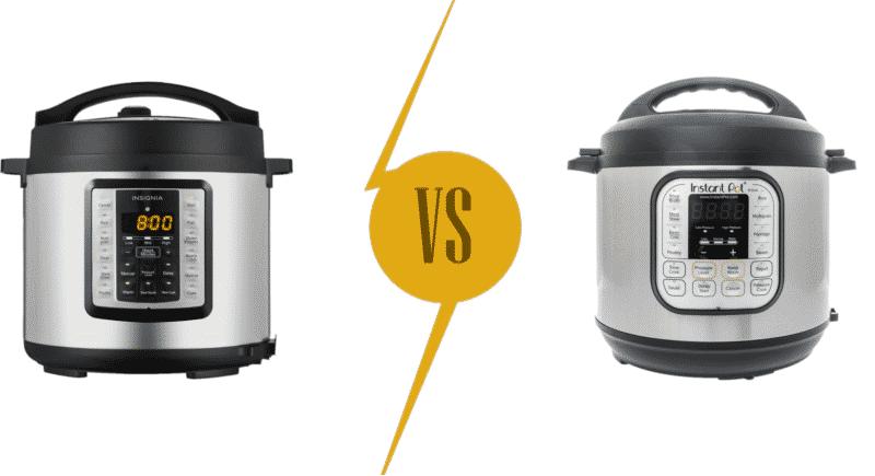 Instant Pot vs Insignia Multi Cooker Comparison