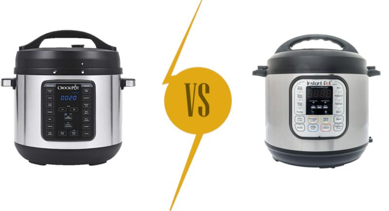 Crock-Pot 8-qt. express Crock XL Pressure Cooker vs Instant Pot