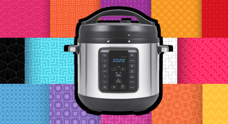 Electric Pressure Cooker Cover Pattern