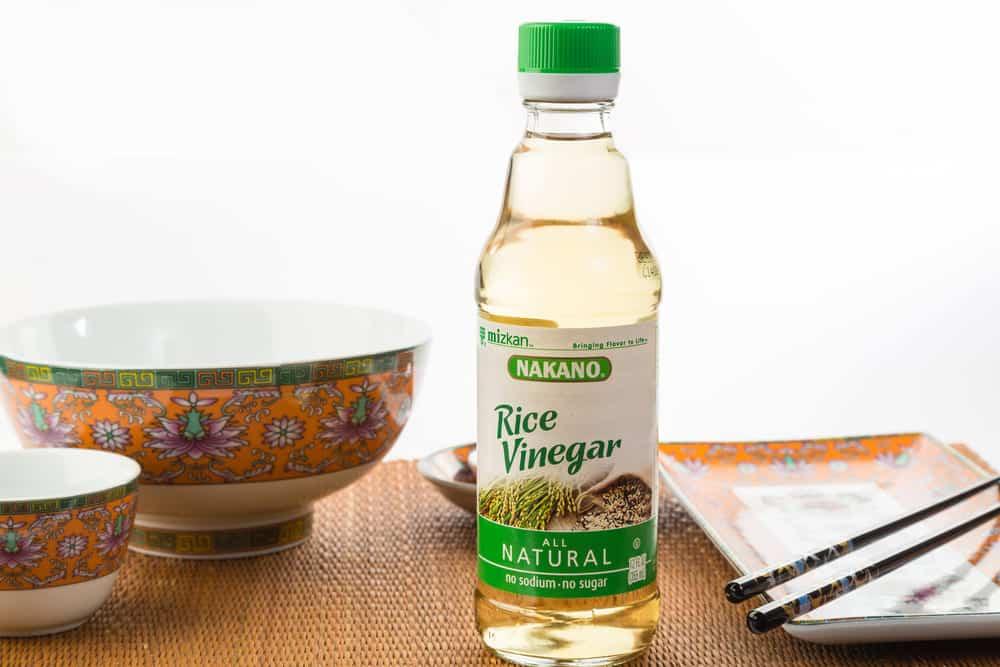 can i use rice vinegar instead of white vinegar