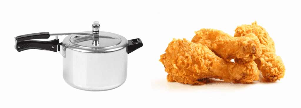 can you fry chicken in a pressure cooker