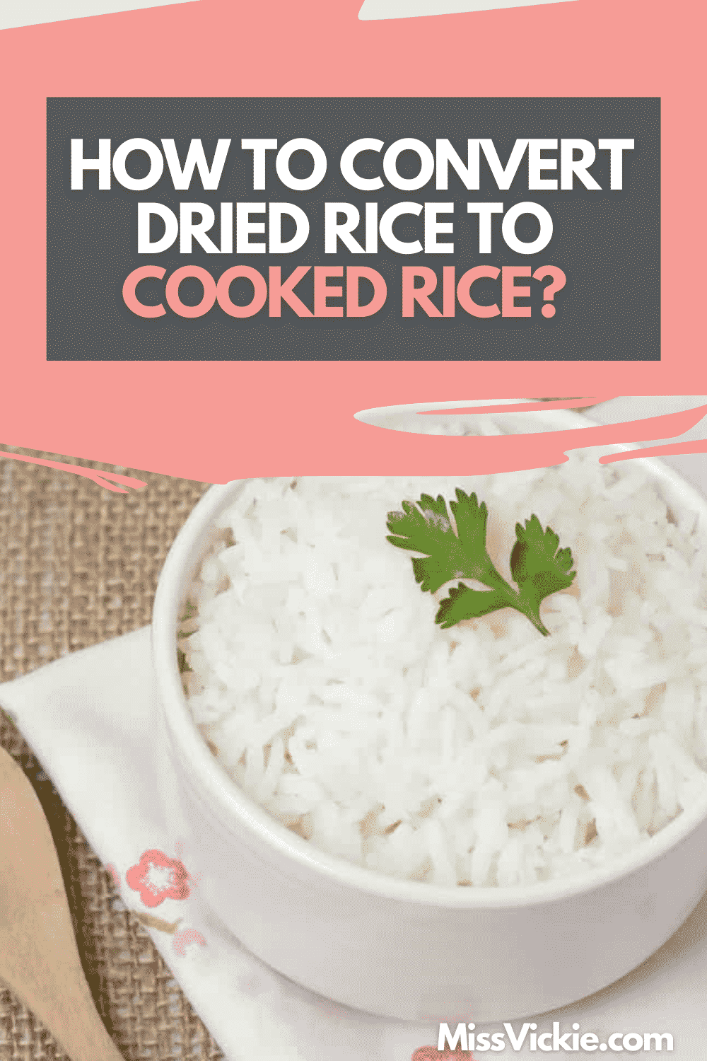 Dried Rice To Cooked Rice