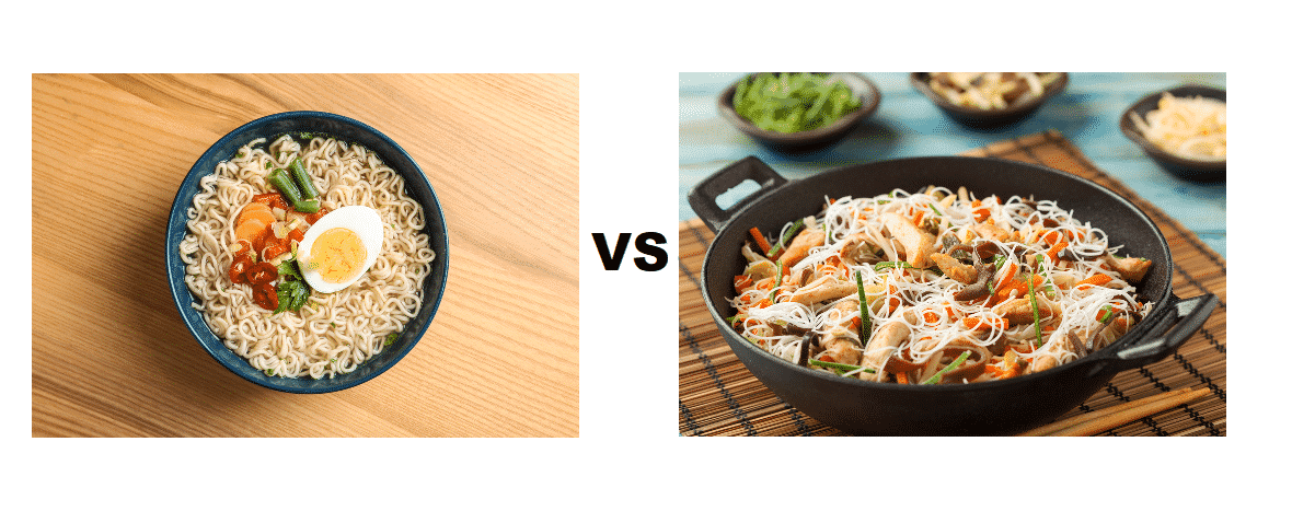 egg noodles vs rice noodles