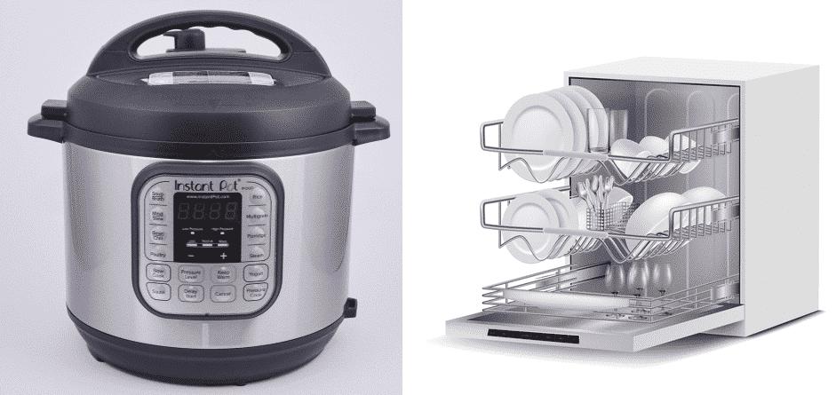 is the instant pot dishwasher safe