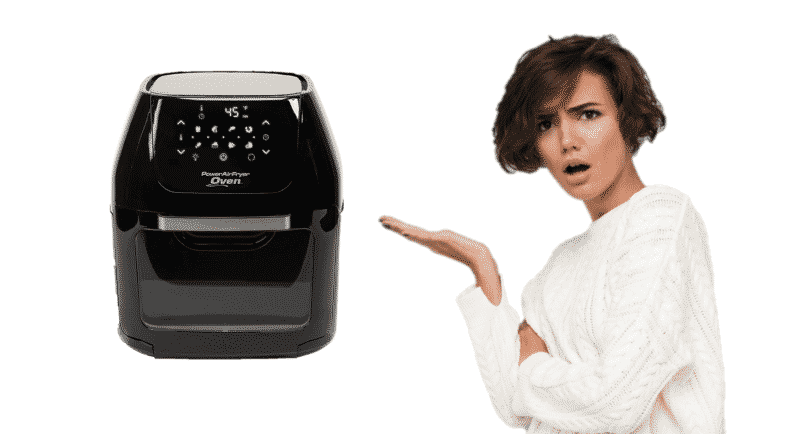 Power Air Fryer Oven Won't Turn On