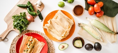 Tamales are much easier steamed in the pressure cooker