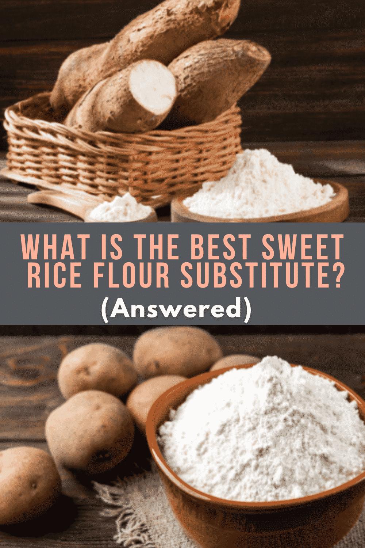 Sweet Rice Flour Substitute