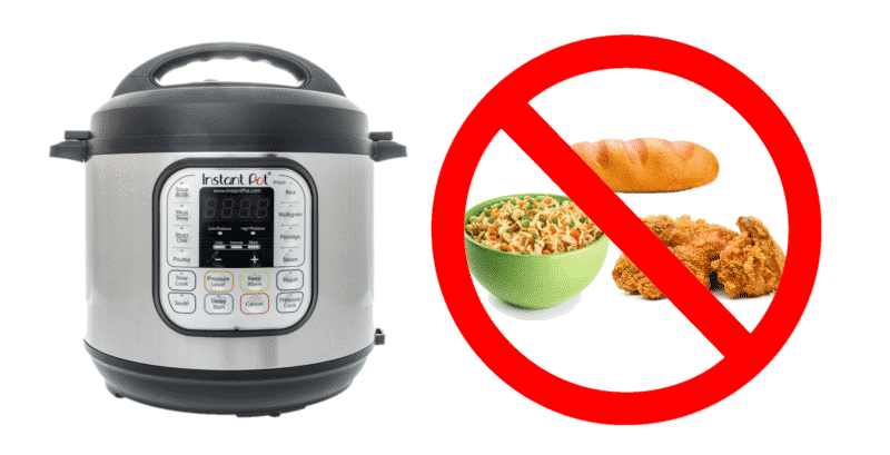 7 Foods That You Cannot Cook In Instant Pot
