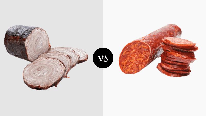 Andouille vs Chorizo