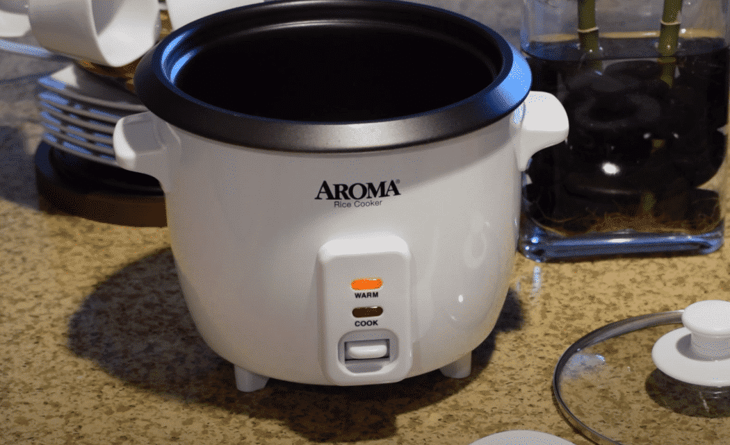 aroma rice cooker not heating up