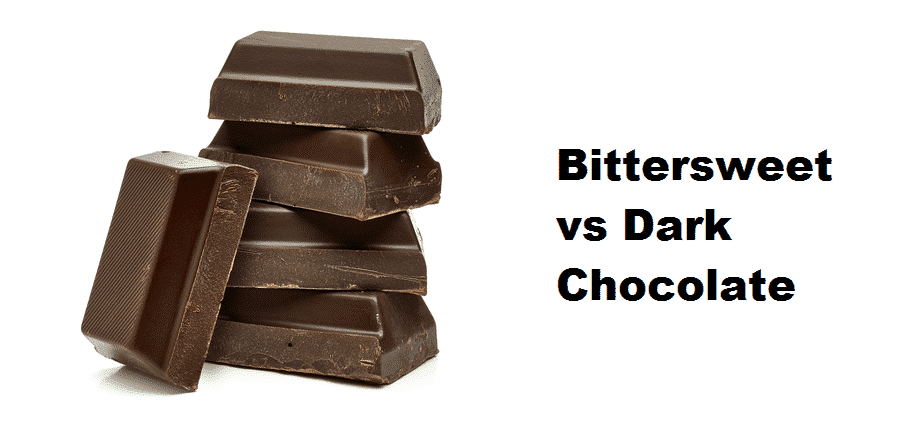 bittersweet vs dark chocolate