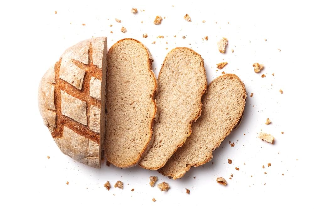 bread smells weird