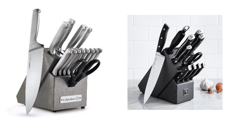 calphalon knives vs henckels