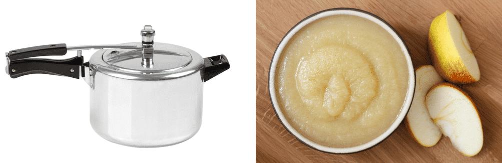 canning applesauce pressure cooker