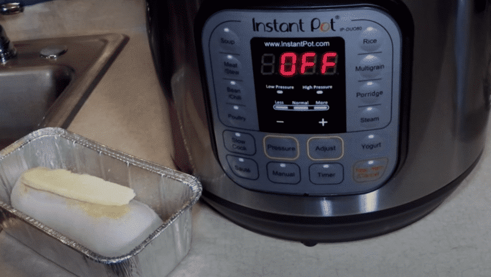 do i have to have water in the instant pot when i pressure cook bread