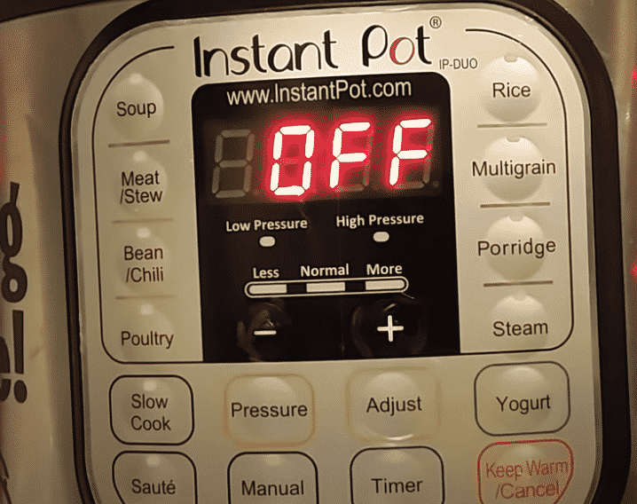 does instant pot turn off automatically