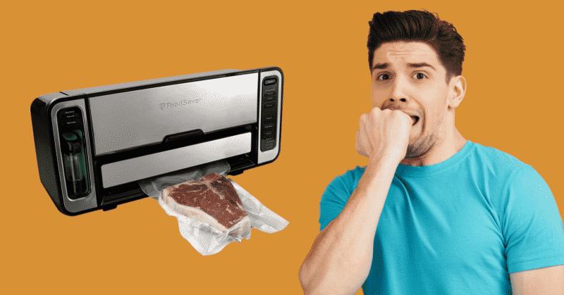 FoodSaver Won't Stop Vacuuming