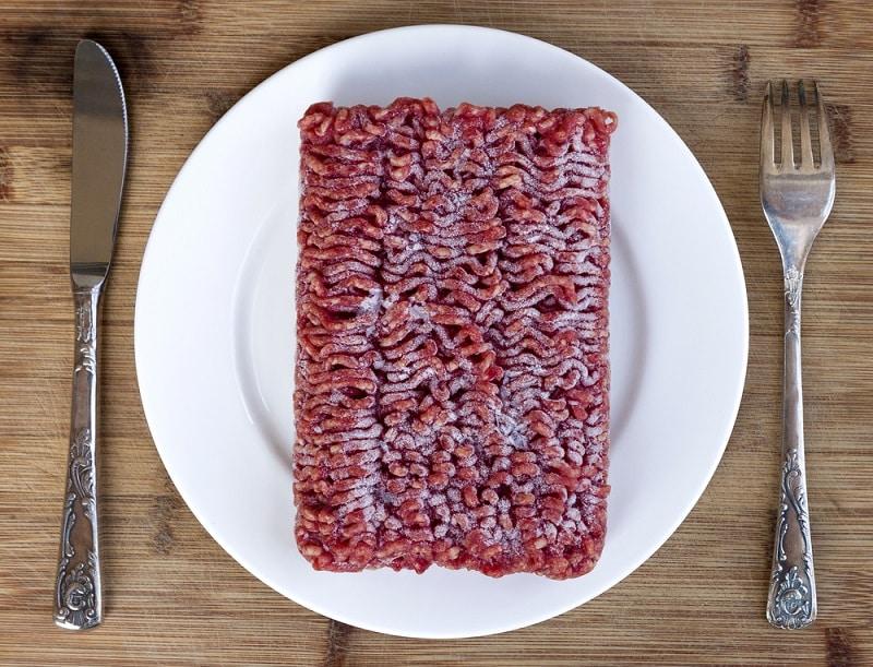 Ground Beef Turns Brown In Freezer