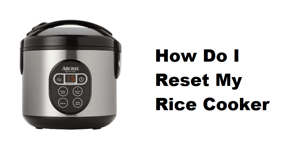 how do i reset my rice cooker