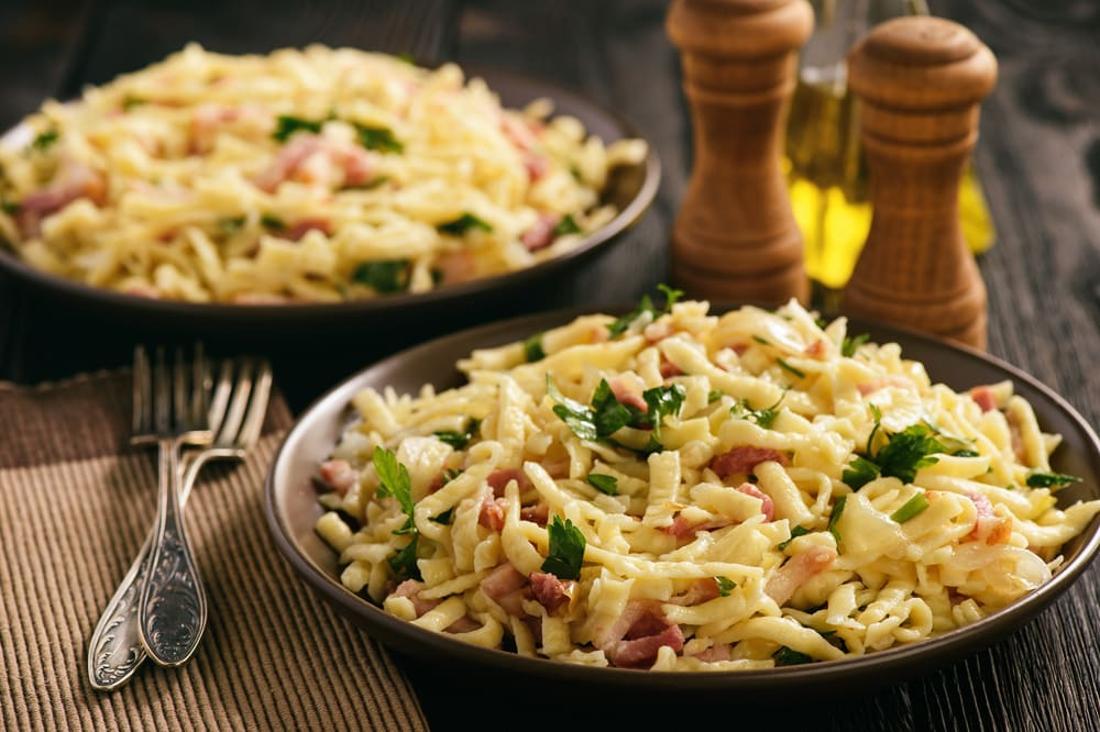 how to make spaetzle without a spaetzle maker
