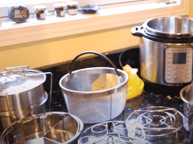 instant pot metal rack