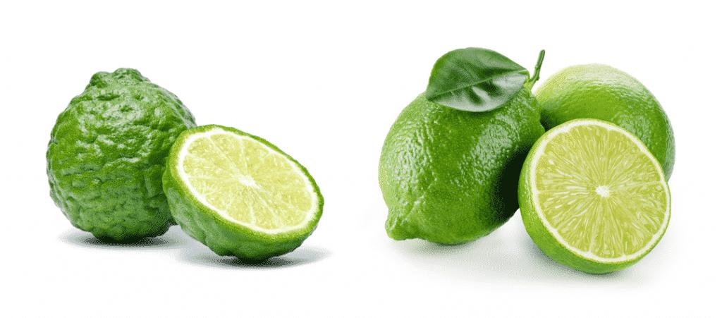 kafir lime vs lime