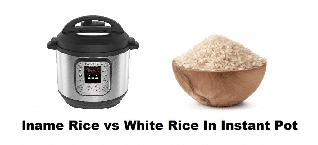 lname rice vs white rice in instant pot