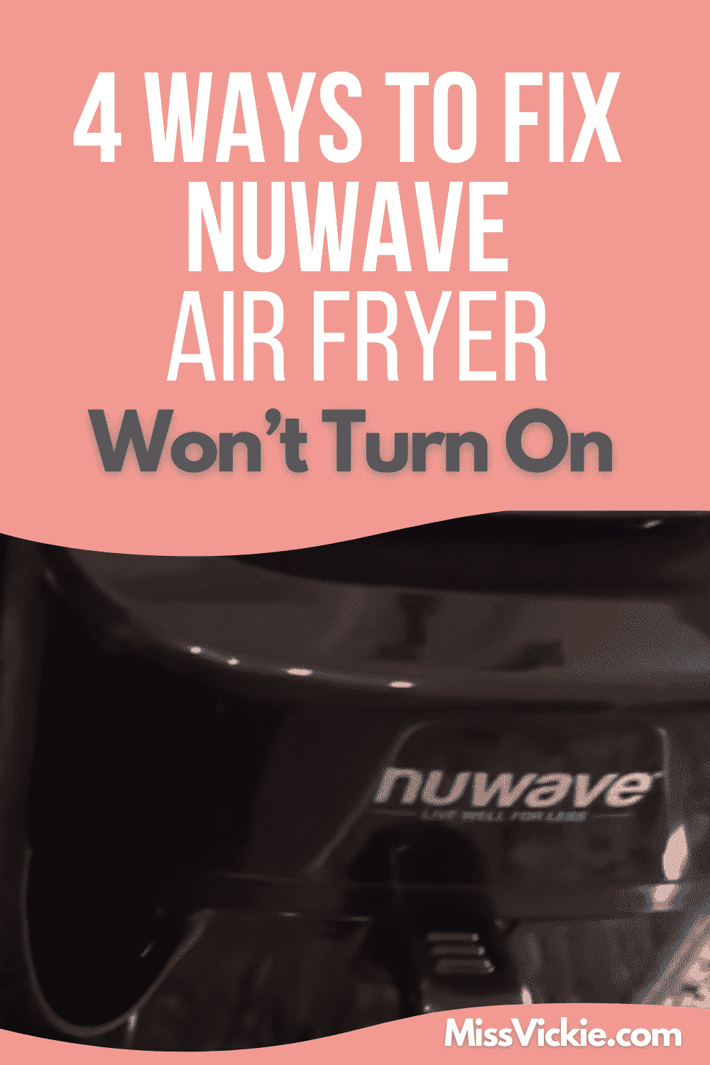 Nuwave Air Fryer Wont Turn On