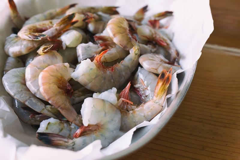 Orang Vein In Shrimp