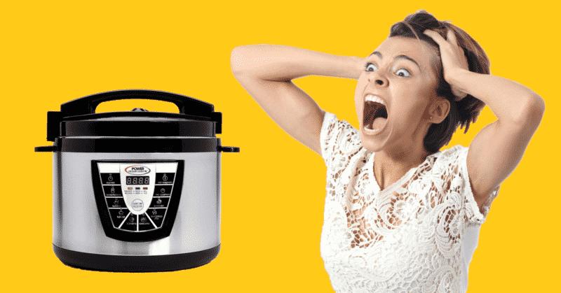 Troubleshooting Power Pressure Cooker XL Lid Error