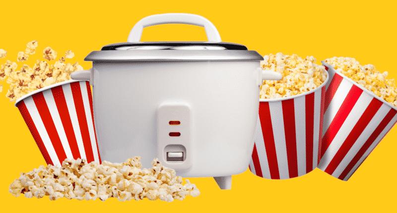 Rice Cooker Popcorn