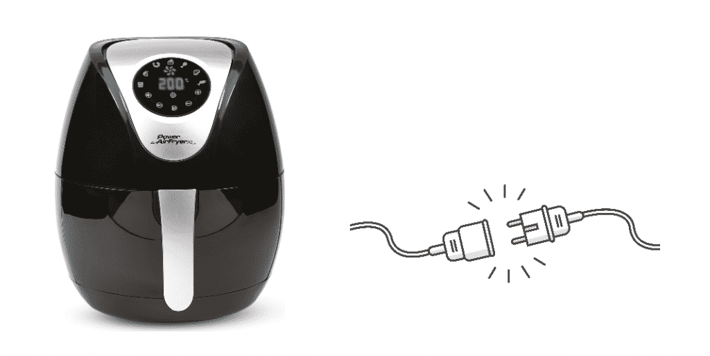 should i unplug my air fryer when not in use