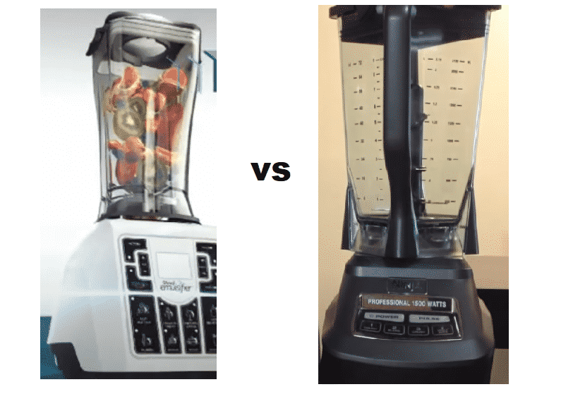 shred emulsifier vs ninja