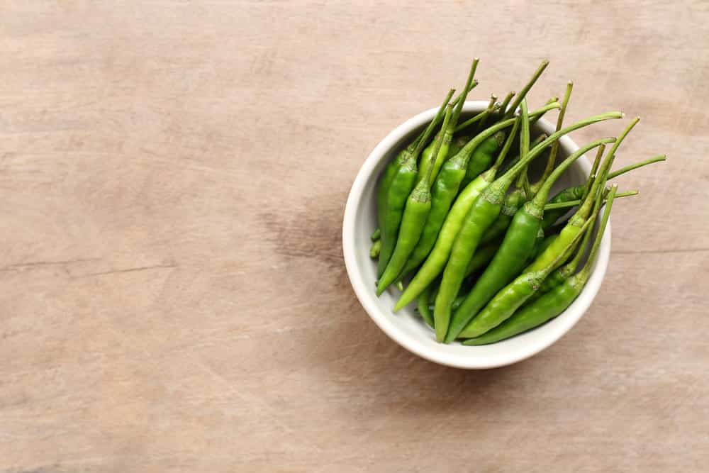 substitution for green chilies
