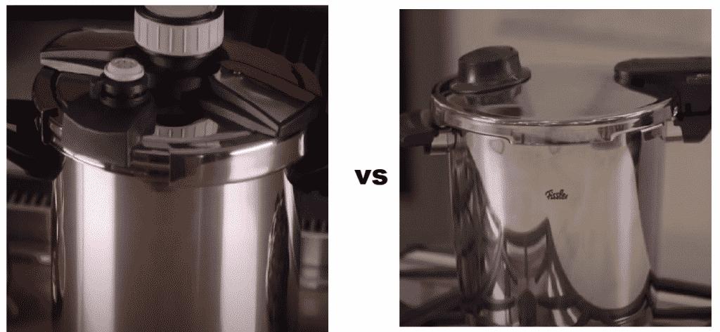 viking vs fissler pressure cooker