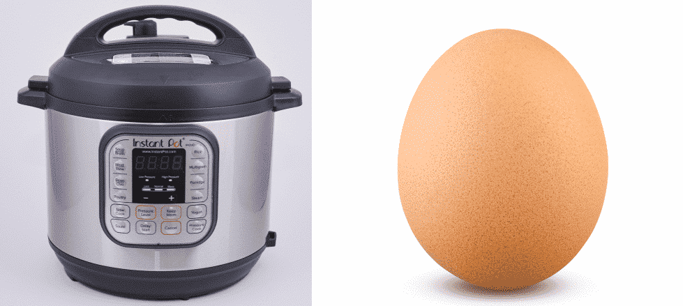 why did my eggs turn brown in instant pot