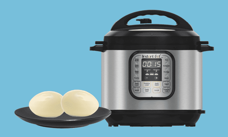 Why did my eggs turn brown in the Instant Pot?
