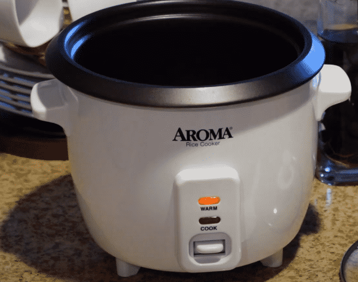 why is the light on my aroma rice cooker not on