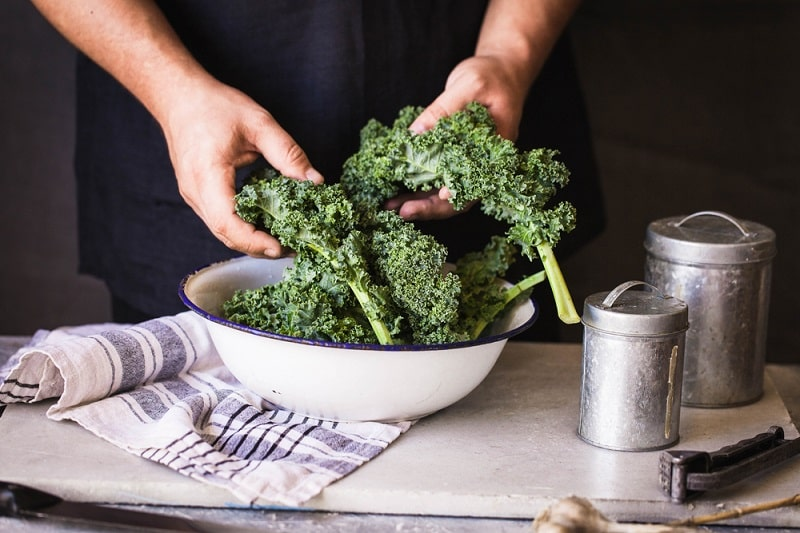Why there are Black Spots on Kale?