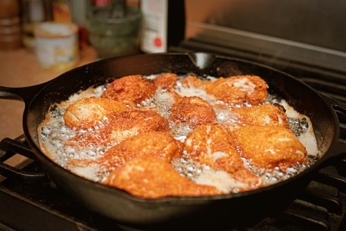 Frying your chickens the wrong way