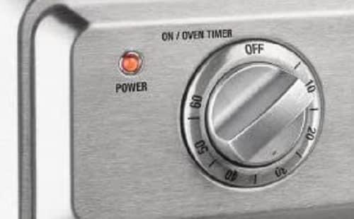 Main switch of Cuisinart Air Fryer